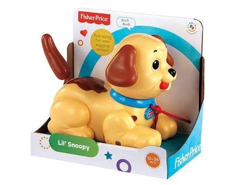 Fisher Price-Играчка за дърпане Кученце