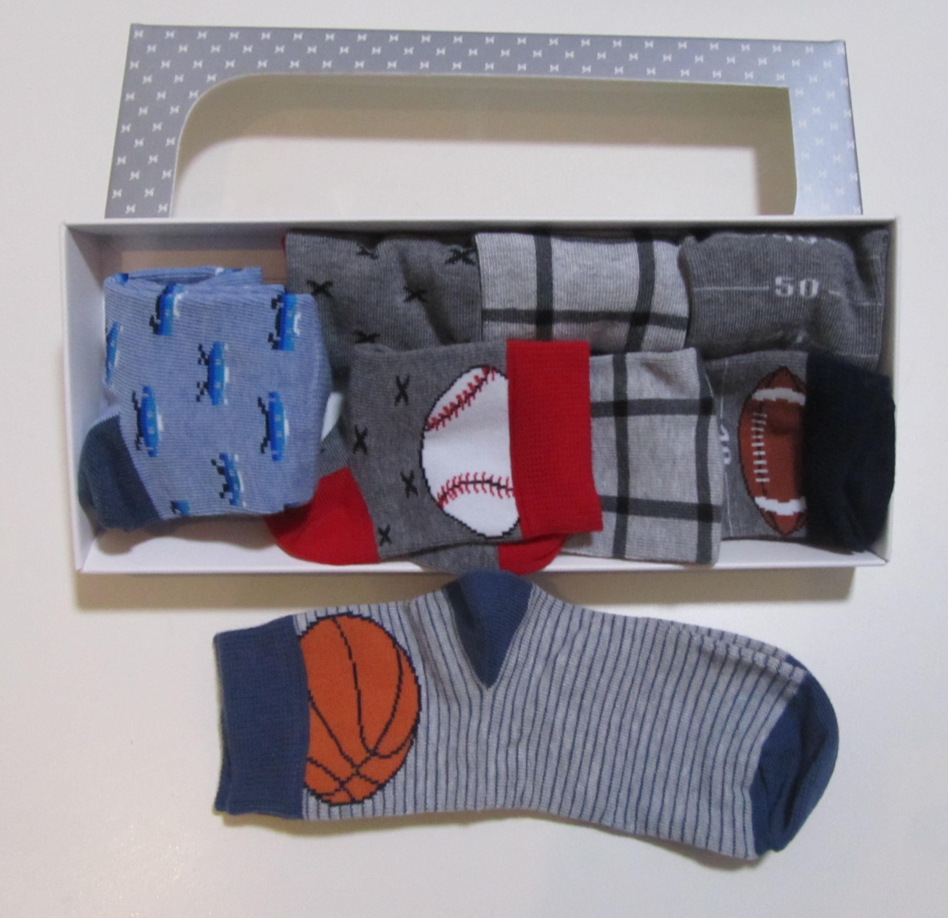 Steven- детски чорапи Sport 5бр в кутия