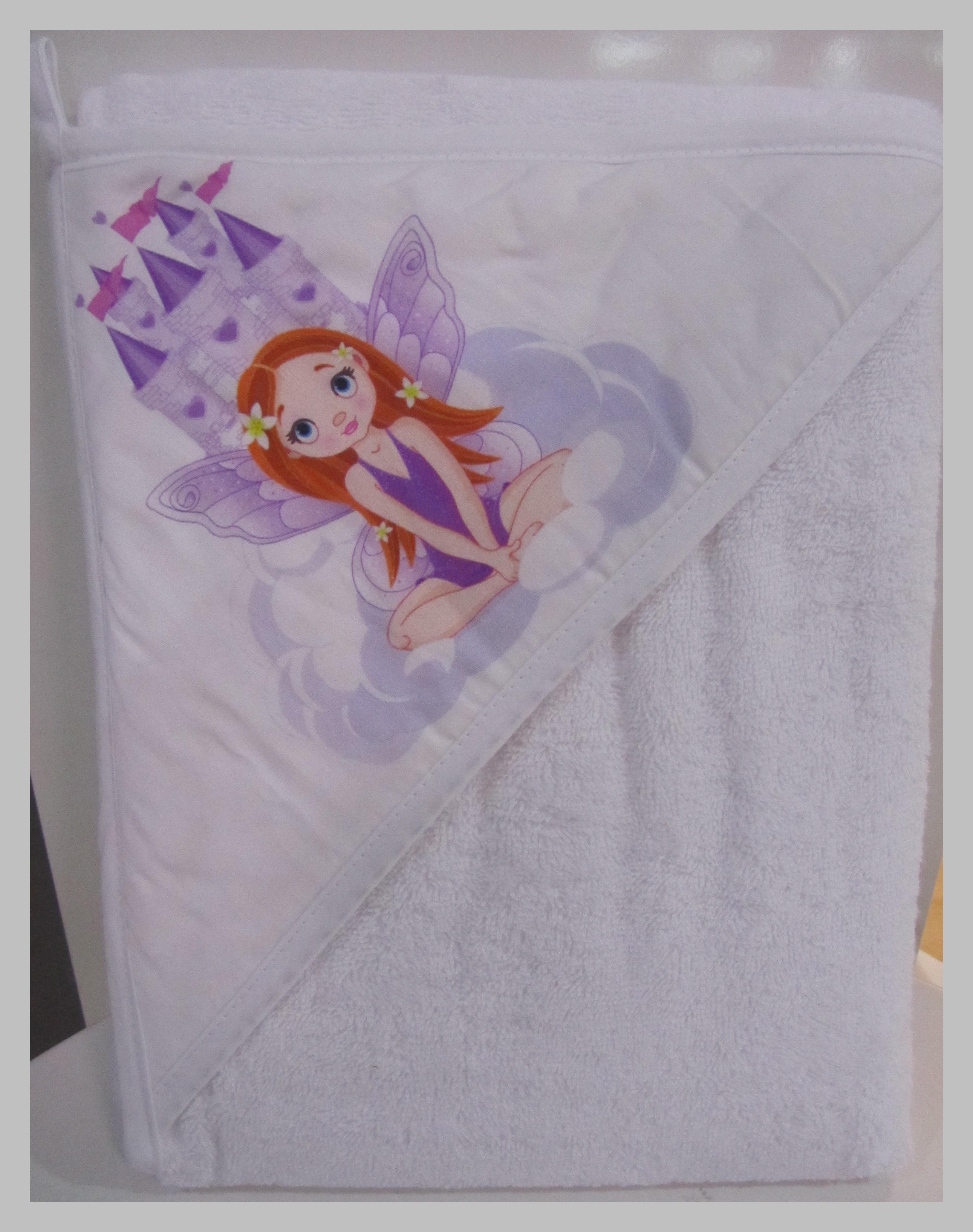 Tega baby-Хавлия за баня Princess 100x100см