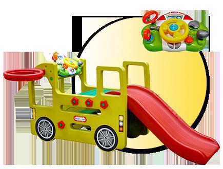 Детски център за игра Автобус JM100