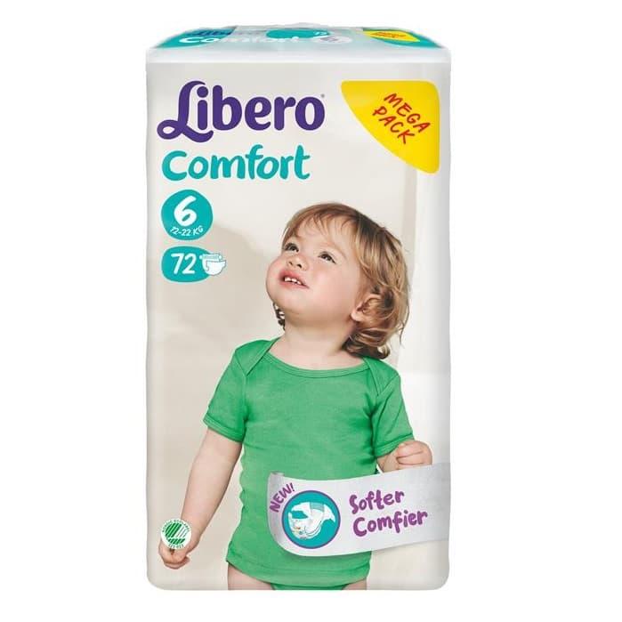 Libero Comfort6 12-22кг 72бр