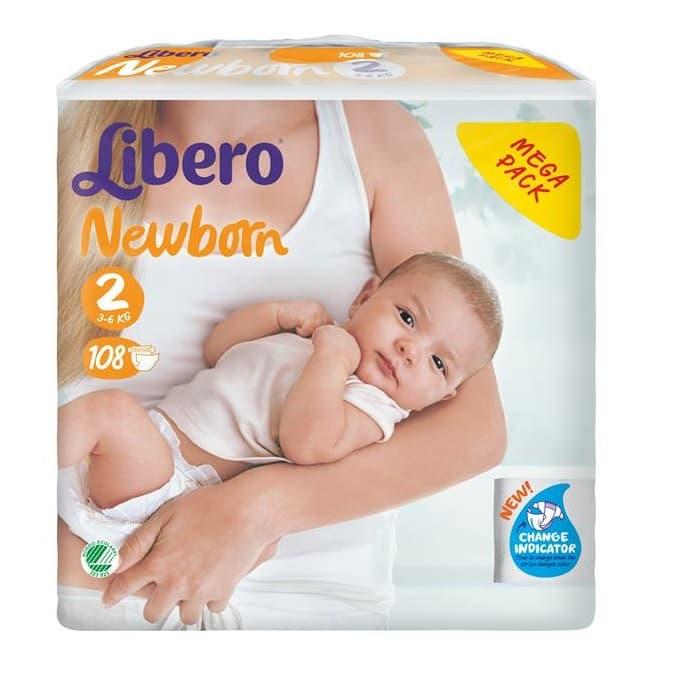 Libero-Newborn 3-6г 108бр