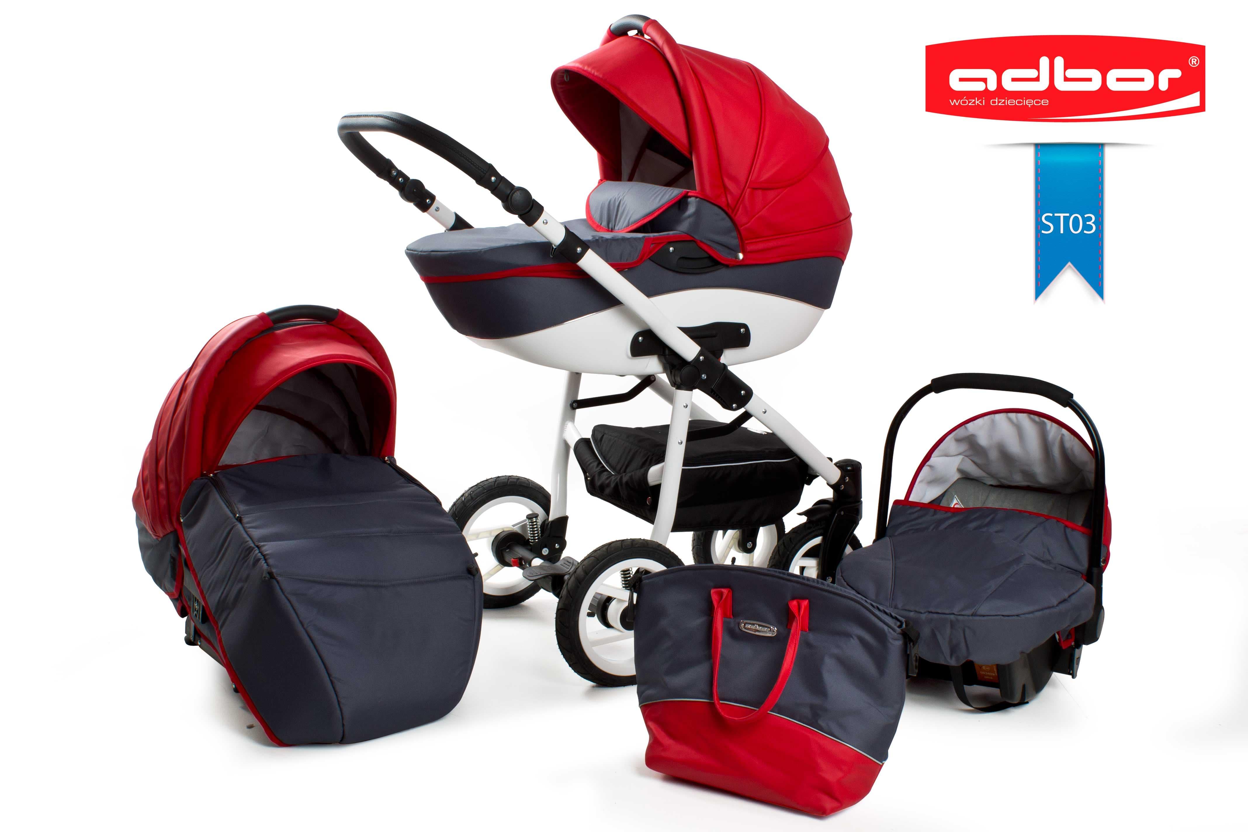 Бебешка количка 3в1 Nemo Style цвят: ST03