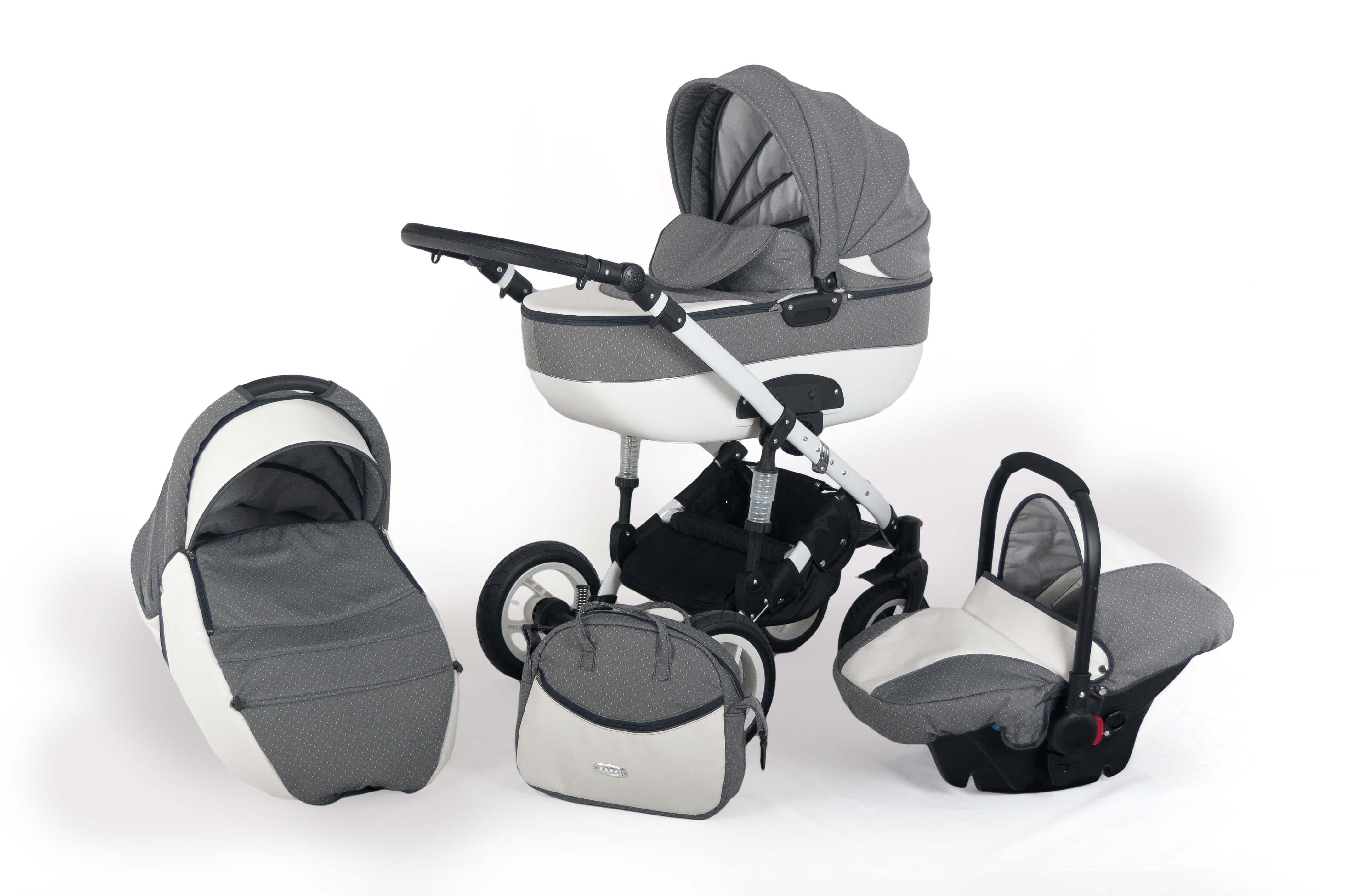 Бебешка количка 3в1 Zarra цвят:03