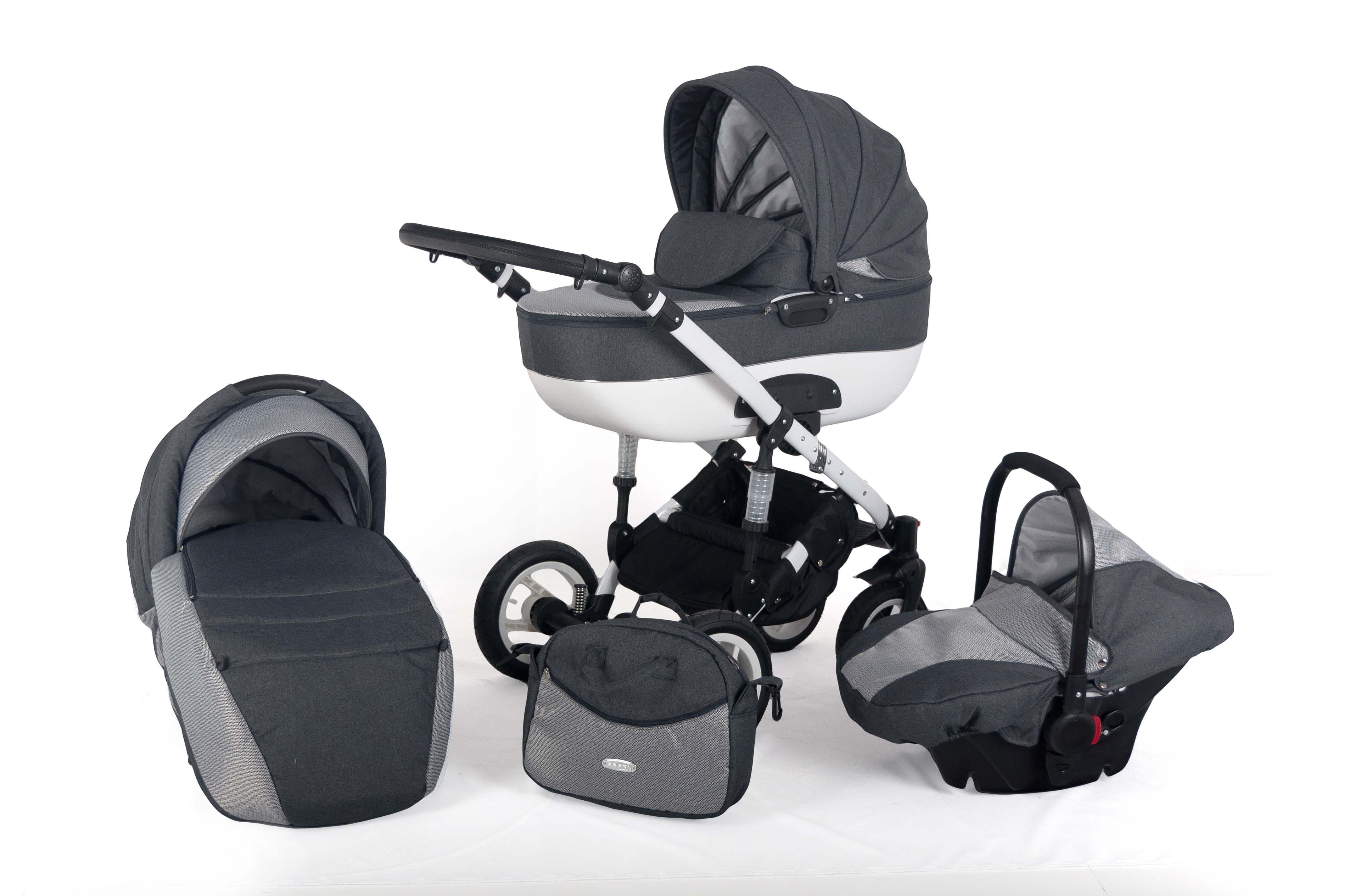 Бебешка количка 3в1 Zarra цвят:10