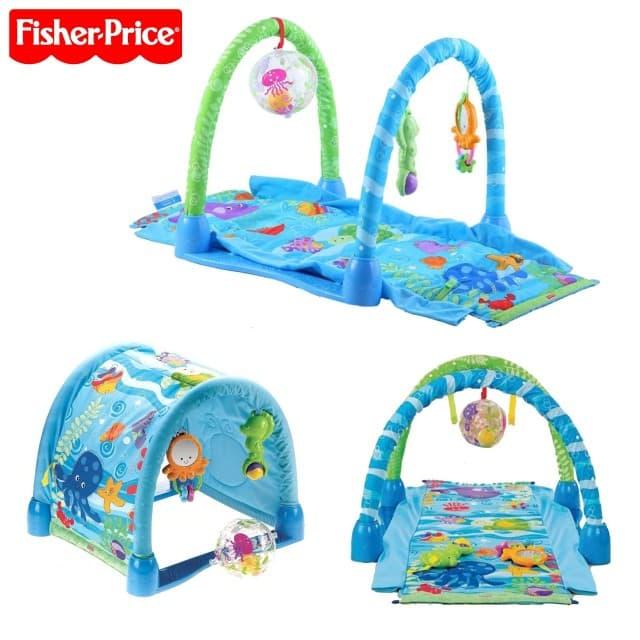 Fisher Price-Активна гимнастика Морско дъно