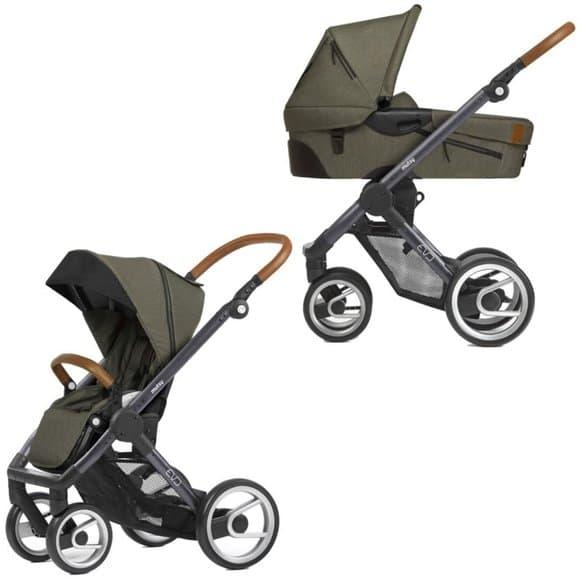 Бебешка количка 2в1 Mutsy Evo Industrial Olive