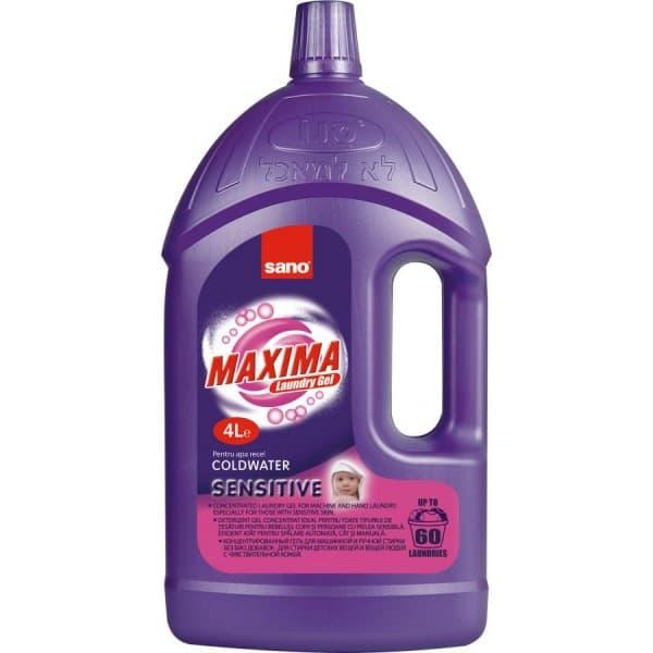 Sano-гел за пране Maxima sensitive 4л