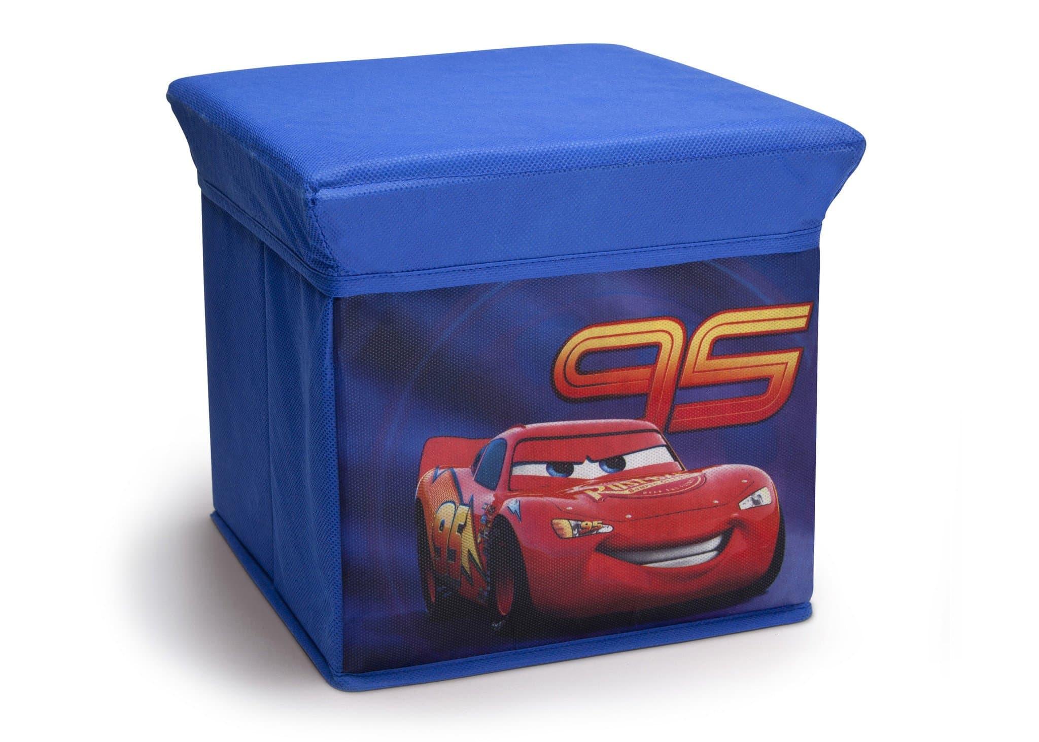 Квадратна сгъваема кутия за играчки Cars