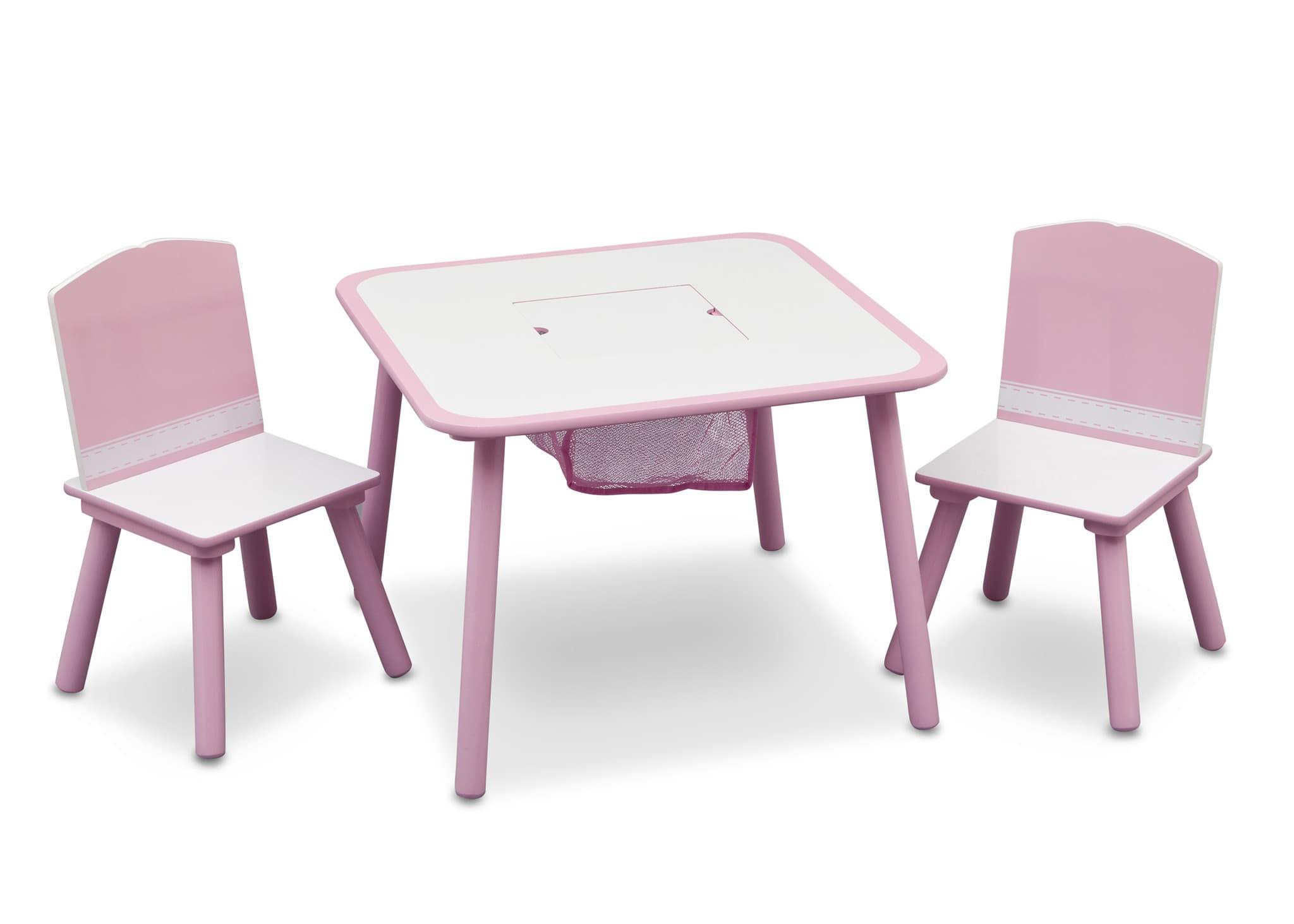 Активна масичка с 2 столчета:pink