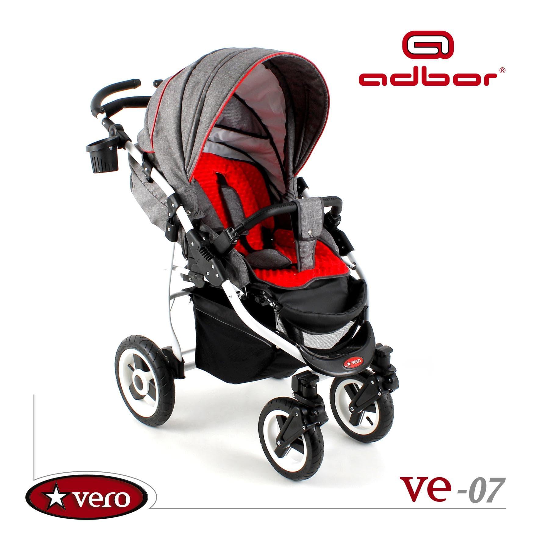 Бебешка комбинирана количка Vero:Ve07