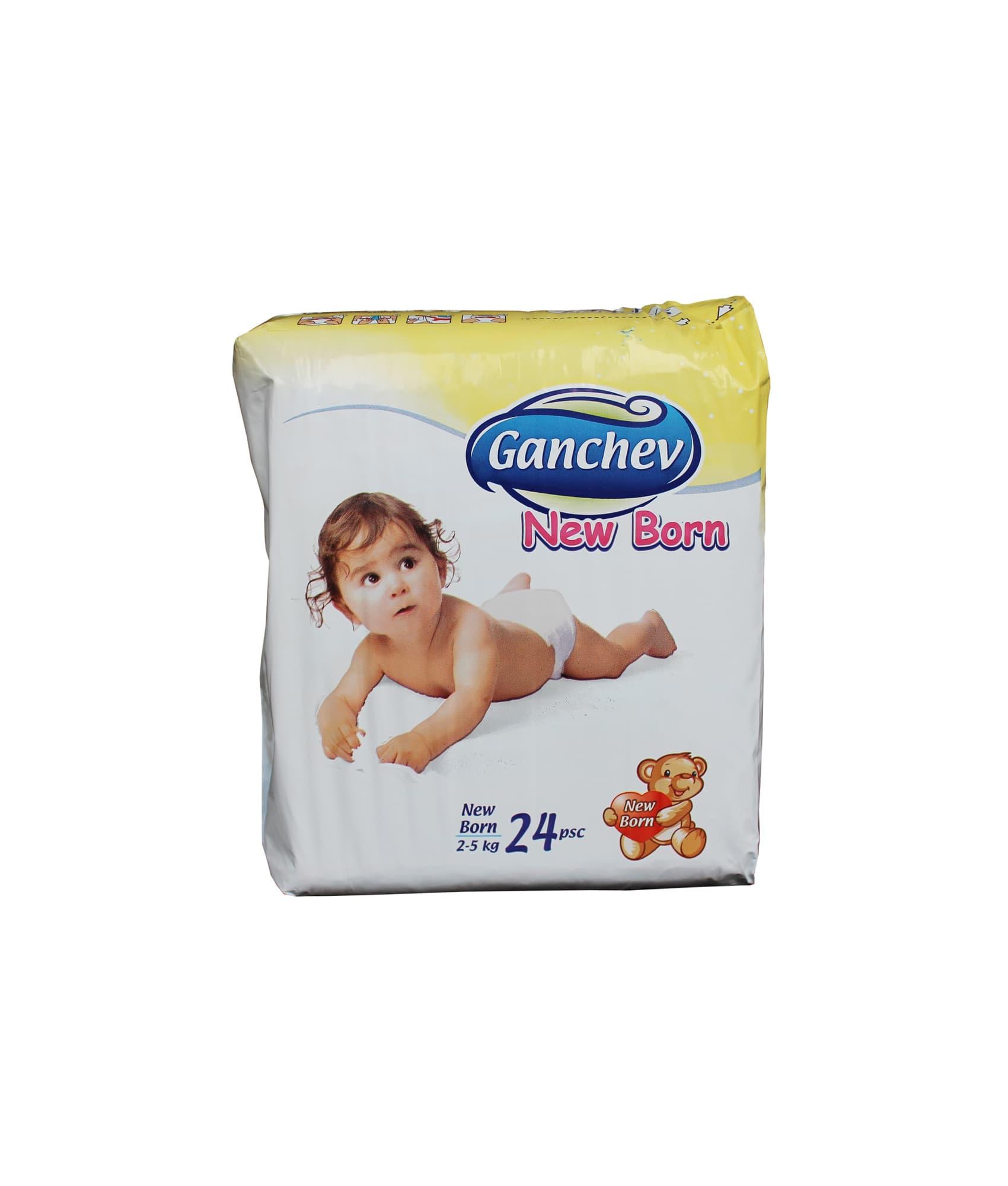 Ganchev-пелени New born 2-5кг 24бр