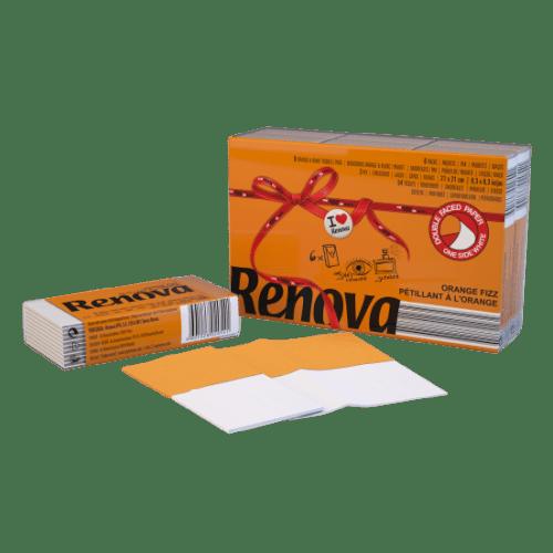 Renova-носни кърпи Портокал