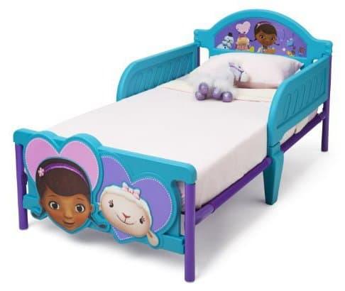 Детско легло Doc Mcstuffins с 3D изображение на таблата