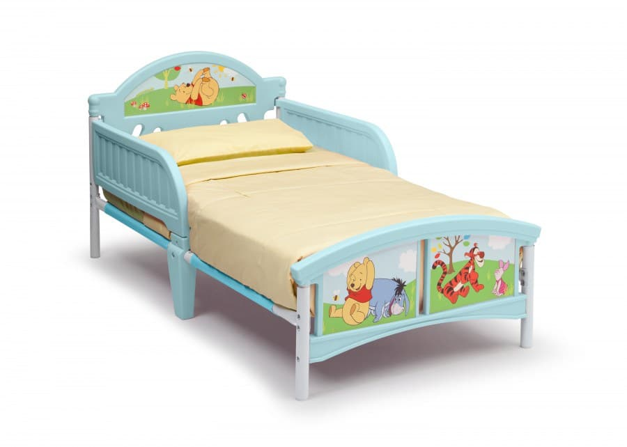 Детско легло Мечо Пух с 3D изображение на таблата