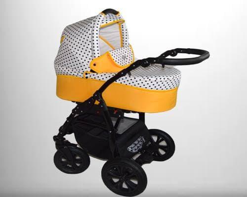Бебешка количка 2в1 Cayenne цвят: ПЪПЕШ