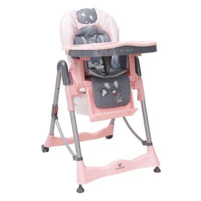Детско столче за хранене Bon Apetit - Цвят: Розов