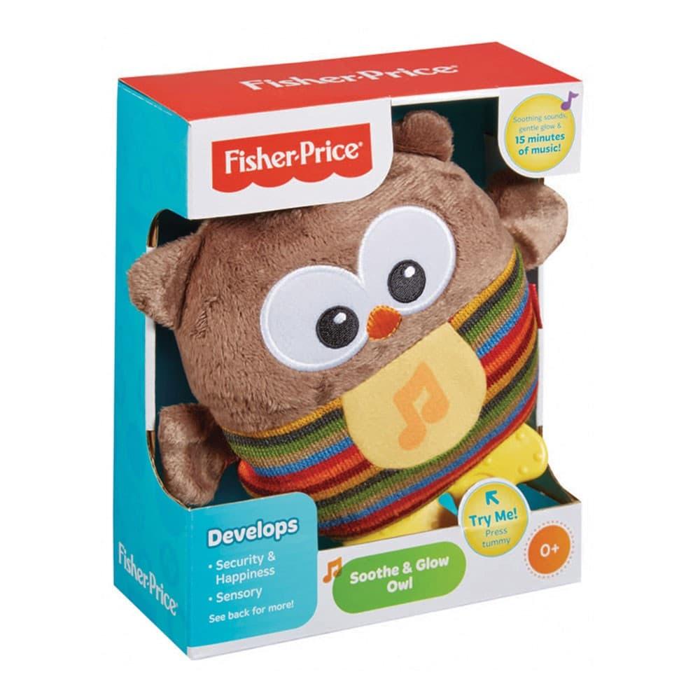 Fisher Price -Музикална сова със светещо коремче