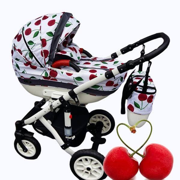 Бебешка количка 3в1 Carrera fruit цвят:cherry