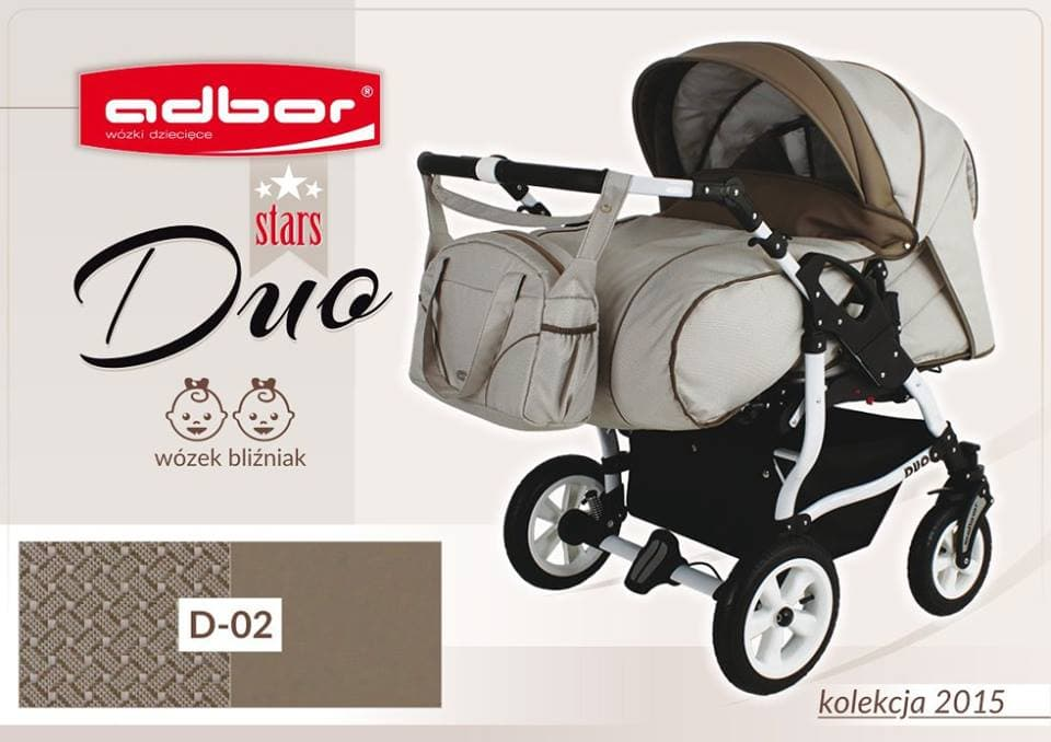 Бебешка количка за близнаци Duo Stars цвят:D02