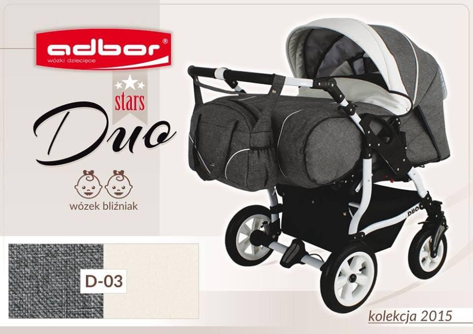 Бебешка количка за близнаци Duo Stars цвят:D03