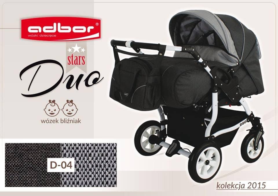 Бебешка количка за близнаци Duo Stars цвят:D04