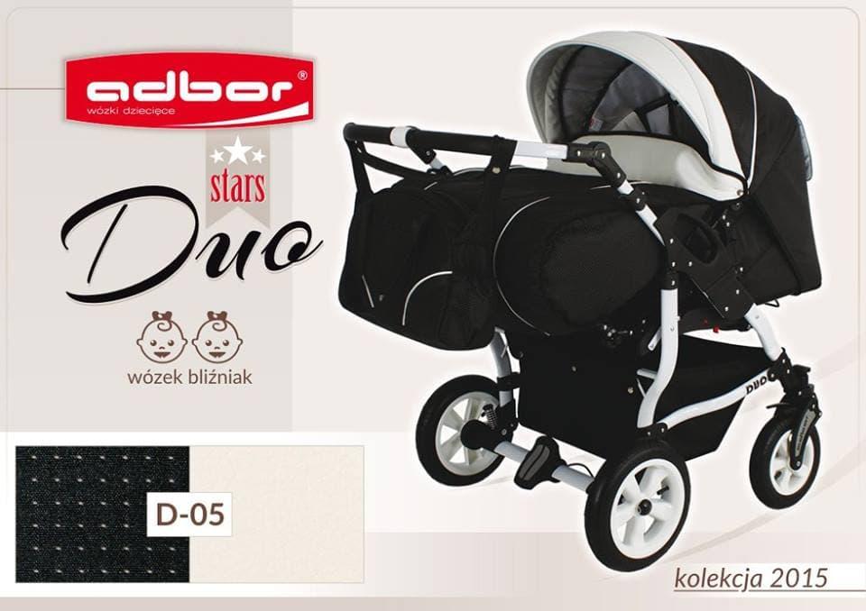 Бебешка количка за близнаци Duo Stars цвят:D05