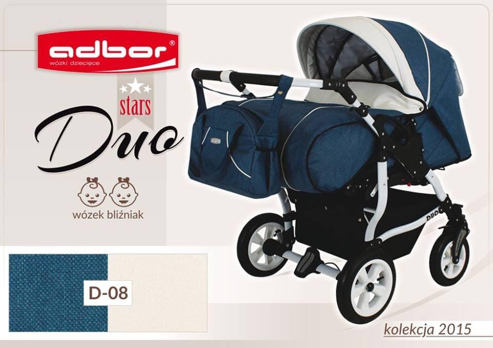 Бебешка количка за близнаци Duo Stars цвят:D08