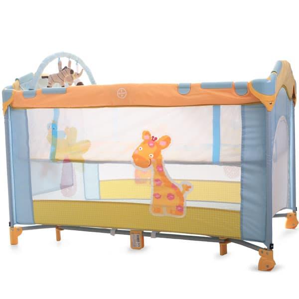 Детска кошара Dreamtime - Цвят: Оранжев