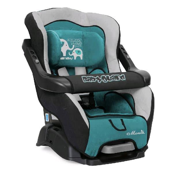 Moni-столче за кола Babyguard 9-18 кг. - Цвят: тюркоаз