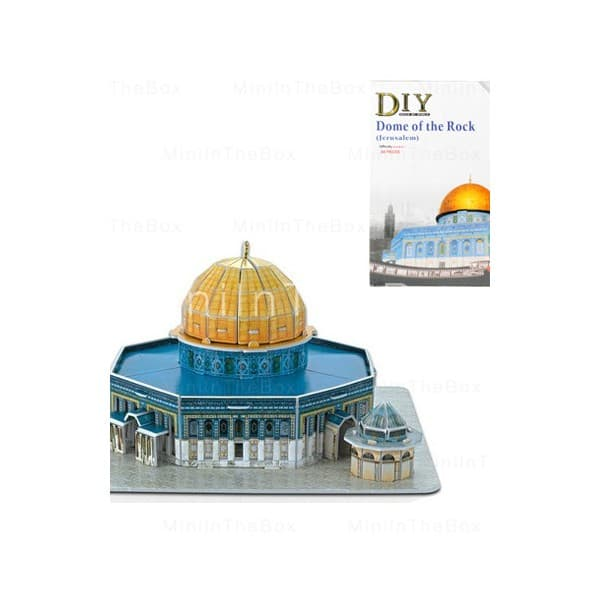 3D пъзел Dome of the Rock 34 части