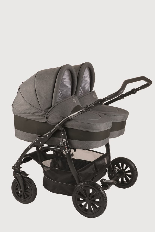 Бебешка количка за близнаци 2в1 Jedo Fyn Duo