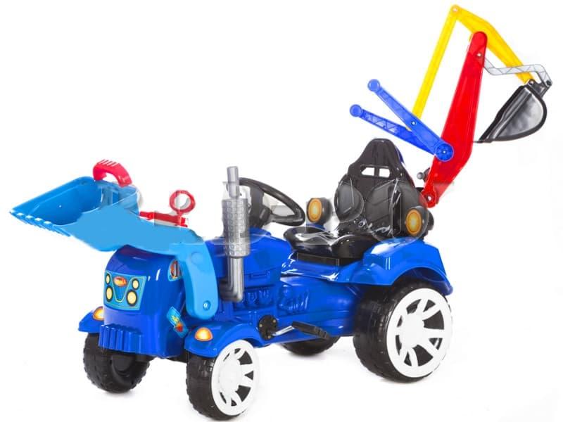 Трактор с фадрома с педали