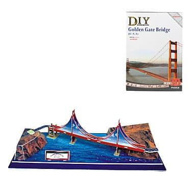 3D пъзел Golden gate bridge 20 части