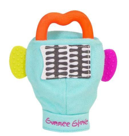 Ръкавичка-гризалка Gummee Glove:тюркоаз
