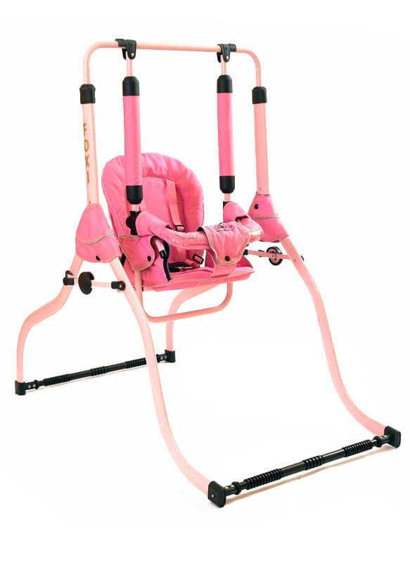Детска люлка H1  1-3г 0-30кг - Цвят: Розов