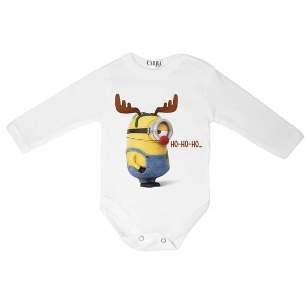 Carra- бебешко боди Ho-ho-ho