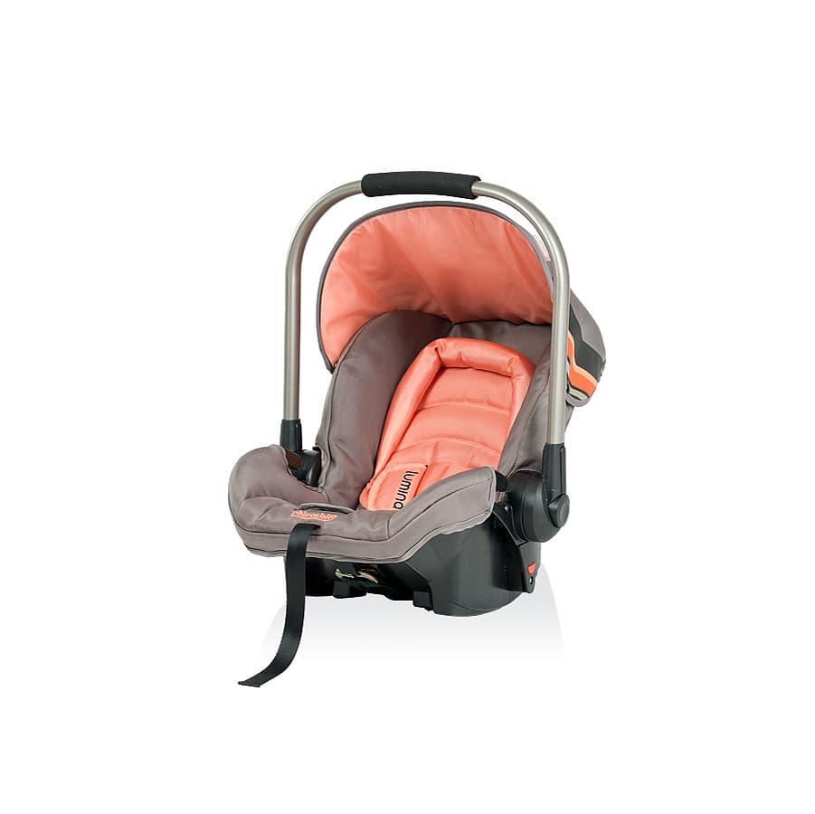 Детско столче за кола ЛУМИНА - Цвят: Оранжев