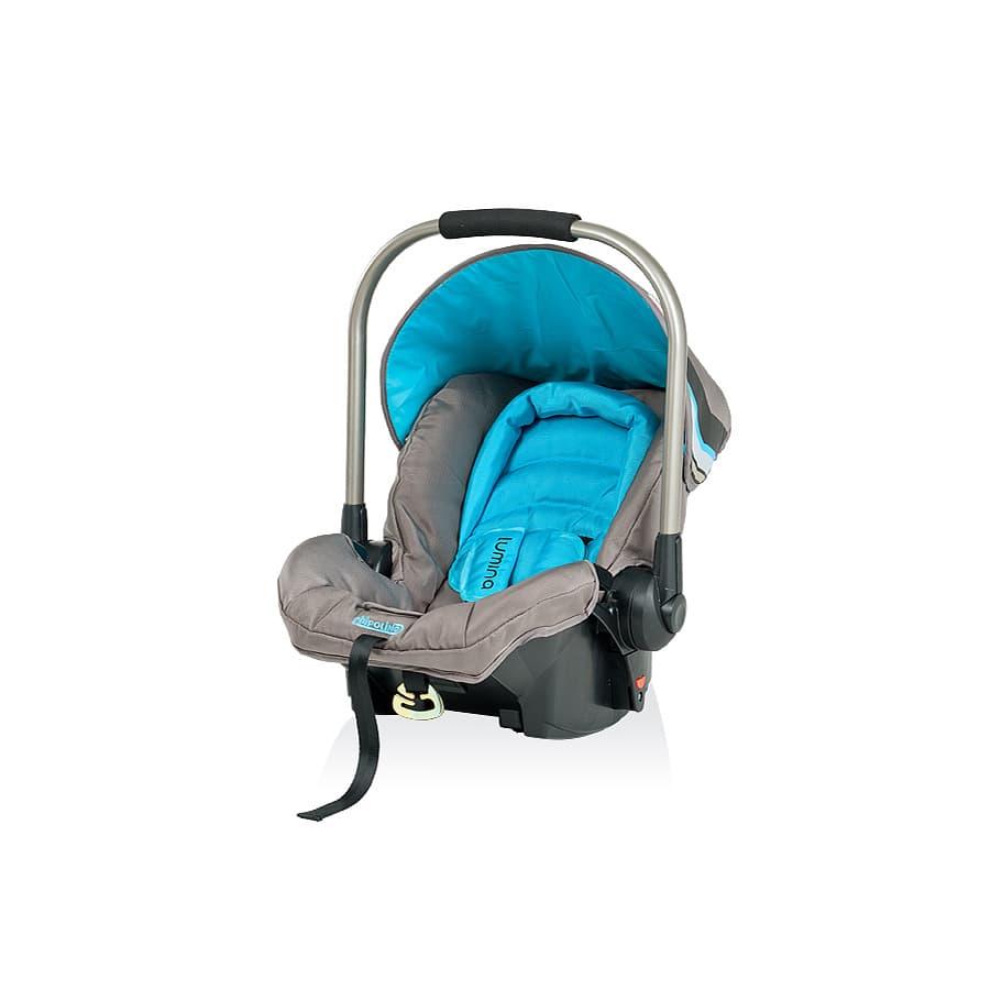 Детско столче за кола ЛУМИНА - Цвят: Син