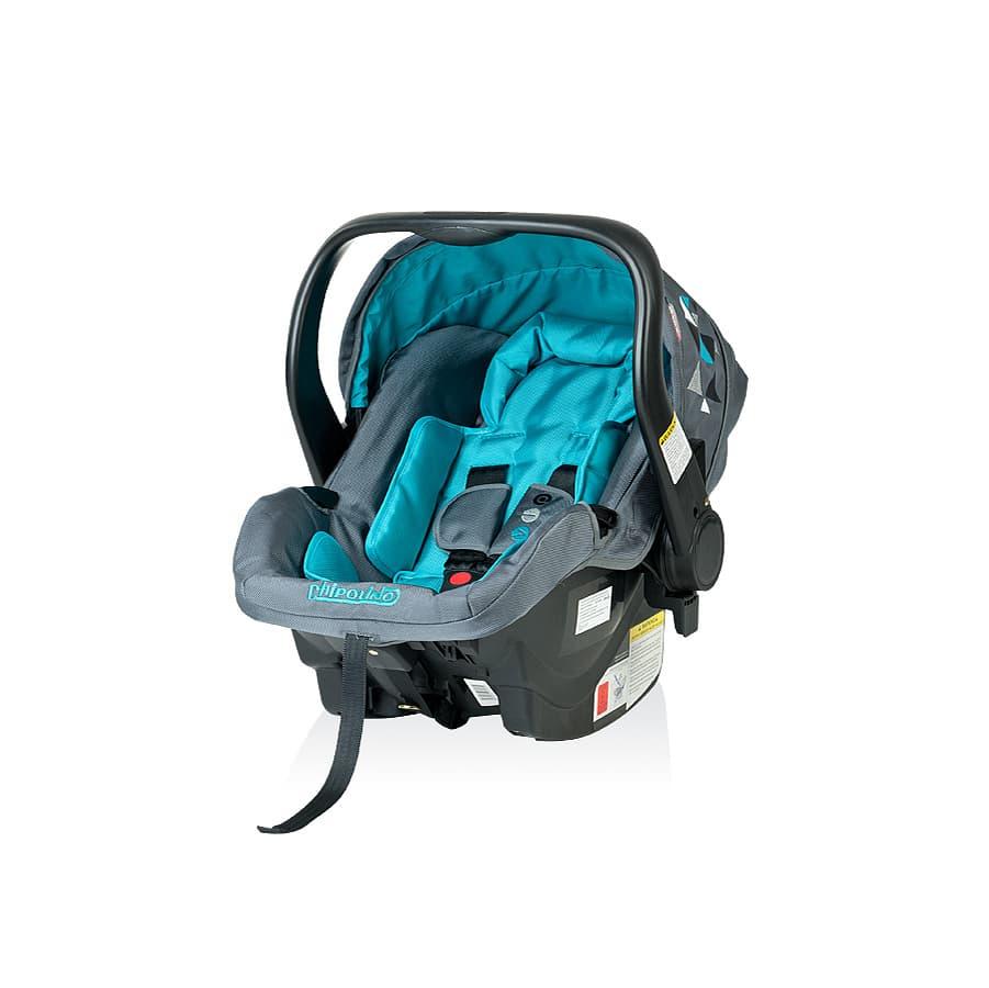 Детско столче за кола Еуфория - Цвят: 000