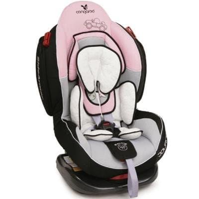 Детско столче за кола Journey Racing + 9-18 кг. / 15-36 кг. - Цвят: Розов
