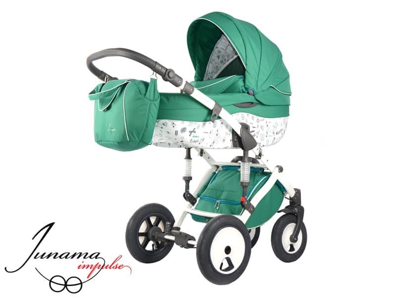 Бебешка количка Junama Impuls Paris Line 2в1 цвят: 03