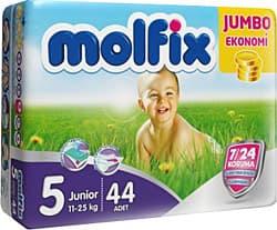 Molfix5 Junior 11-18кг 44бр