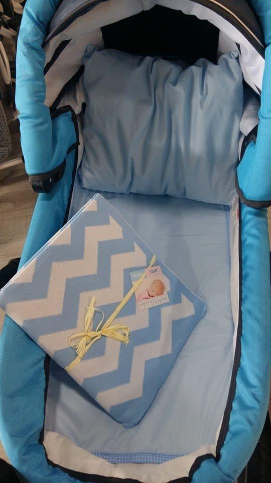Комплект за количка blue 3 части