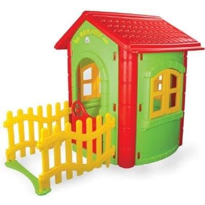 Детска къща с ограда