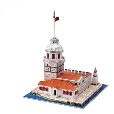 3D пъзел Maiden's Tower 46 части