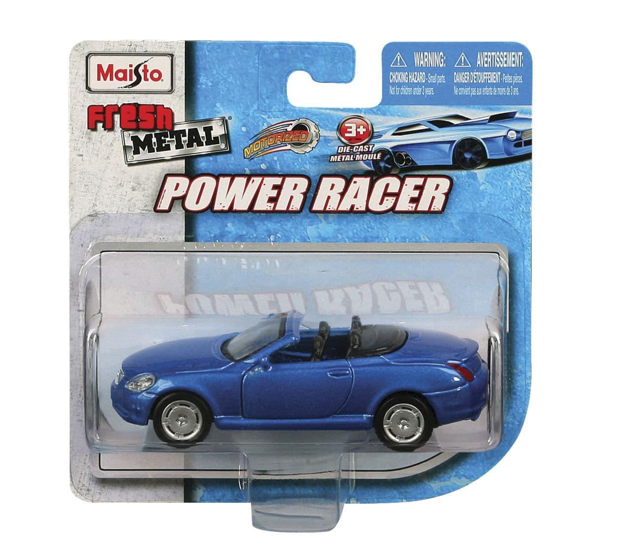 Метална кола Power racer - Цвят: Син