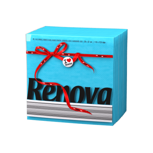 Renova-сини салфетки Е