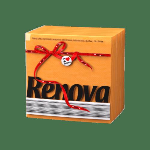 Renova-оранжеви салфетки Е