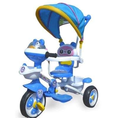 Детска триколка Панда - Цвят: Син